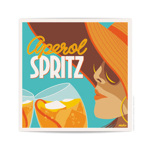 Spritz - Square Wall Art Print