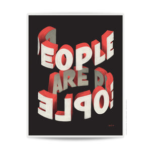 People Are People - 11x14
