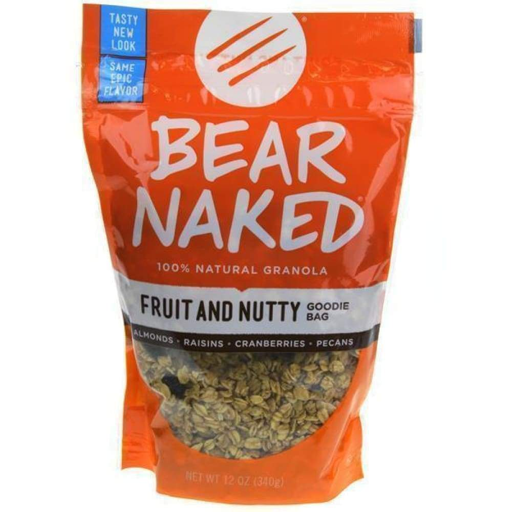 Bear Naked Cereal All Natural Granola Fruit & Nut - www.inmatecarepackage.net