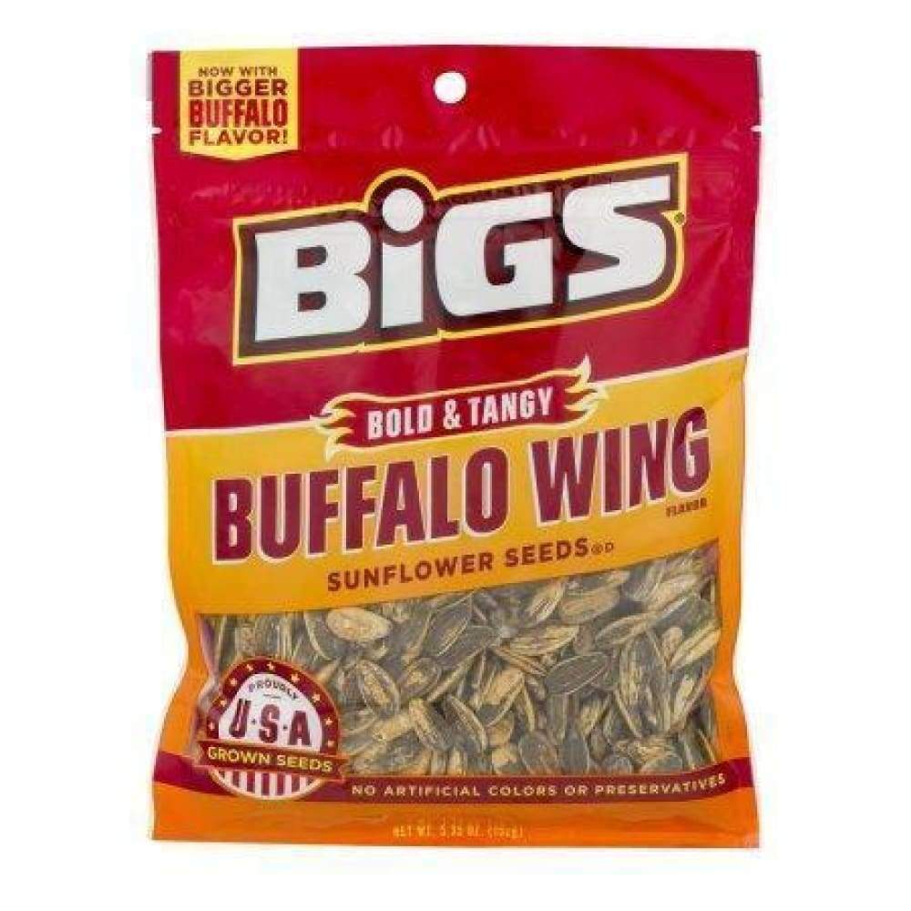 Bigs Buffalo Wing Sunflower Seeds 5.35 Oz. - www.inmatecarepackage.net