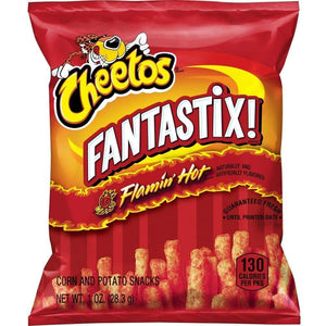 Cheetos Fantastix Flamin' Hot Corn & Potato Snacks 1.0 Ounce - www.inmatecarepackage.net