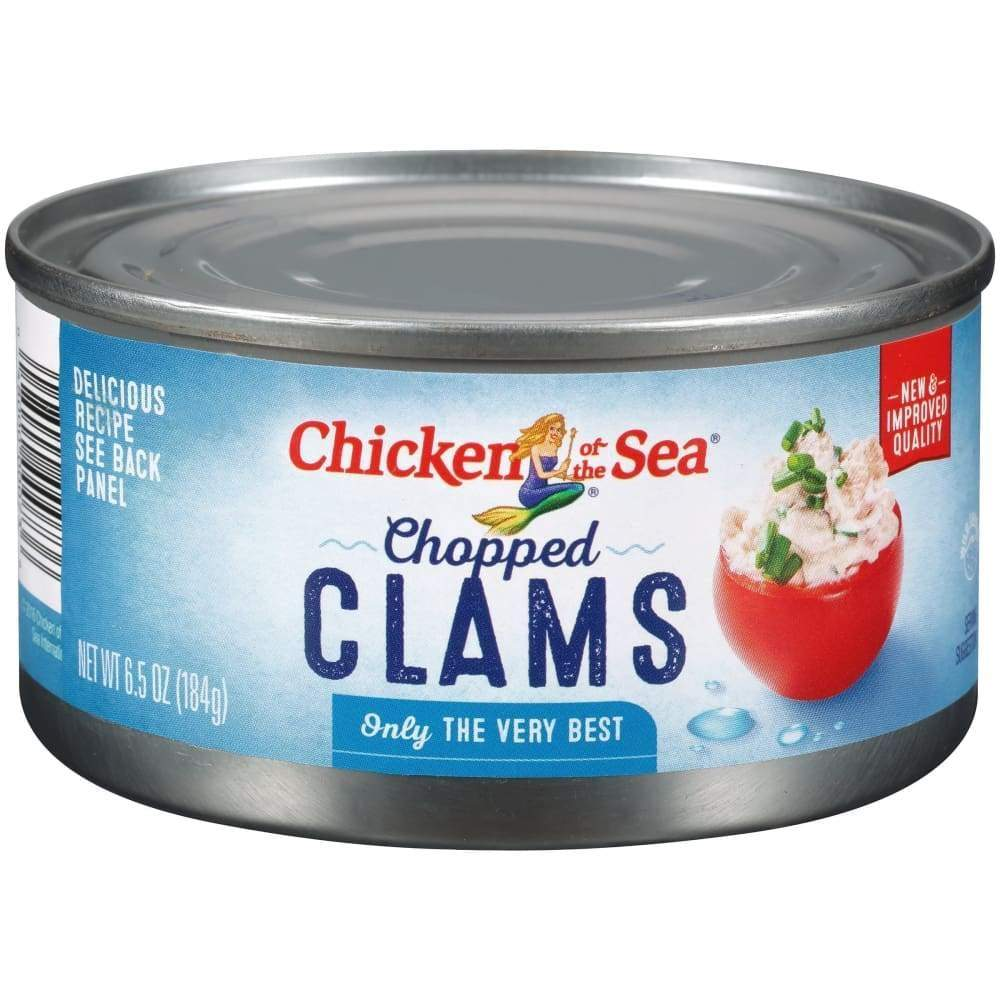 Chicken Of The Sea Chopped Clams 6.5Oz - www.inmatecarepackage.net