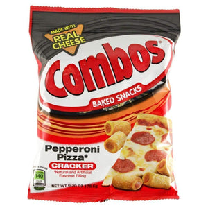 Combo Snack Cracker Pepperoni 6.3Oz - www.inmatecarepackage.net