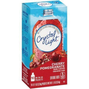 Crystal Light On The Go Powdered Soft Drink Cherry Pomegranate - www.inmatecarepackage.net