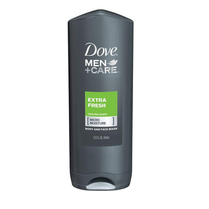 Dove Men+Care Body Wash Extra Fresh 13.5Oz. - www.inmatecarepackage.net