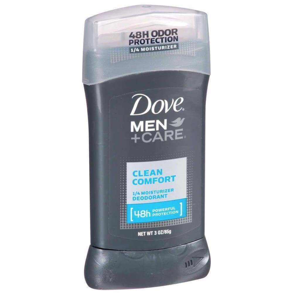 Dove Men+Care Men+Care Deodorant Clean Comfort 3Oz. - www.inmatecarepackage.net