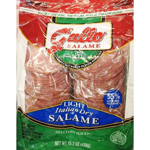 Gallo® Salame Deli Thin Sliced Italian Dry Salame, 15.2 Oz. - www.inmatecarepackage.net