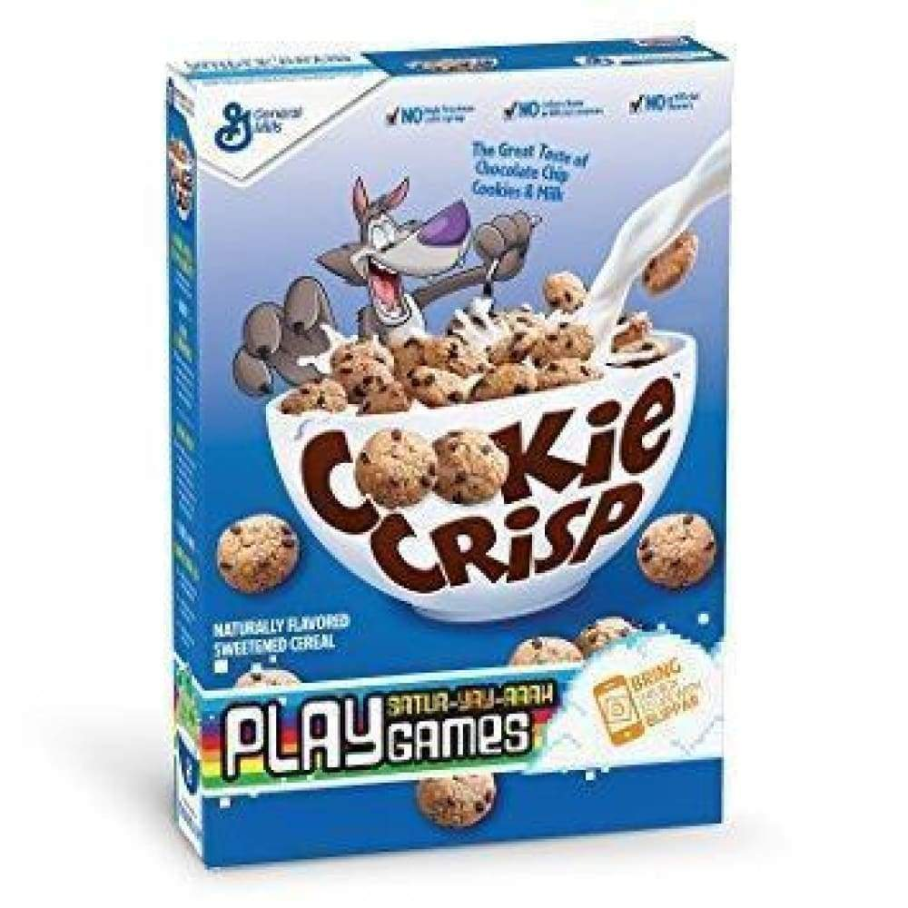 General Mills Cookie Crisp, 11.25 Oz. - www.inmatecarepackage.net