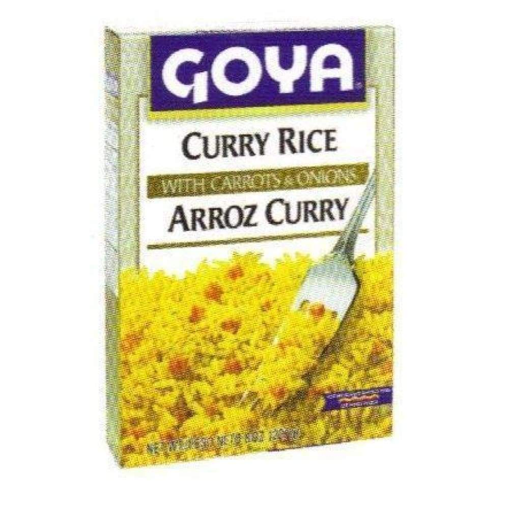 Goya Curry Rice 8 Oz - www.inmatecarepackage.net
