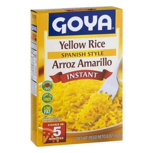 Goya Instant Yellow Rice 6 Oz. - www.inmatecarepackage.net