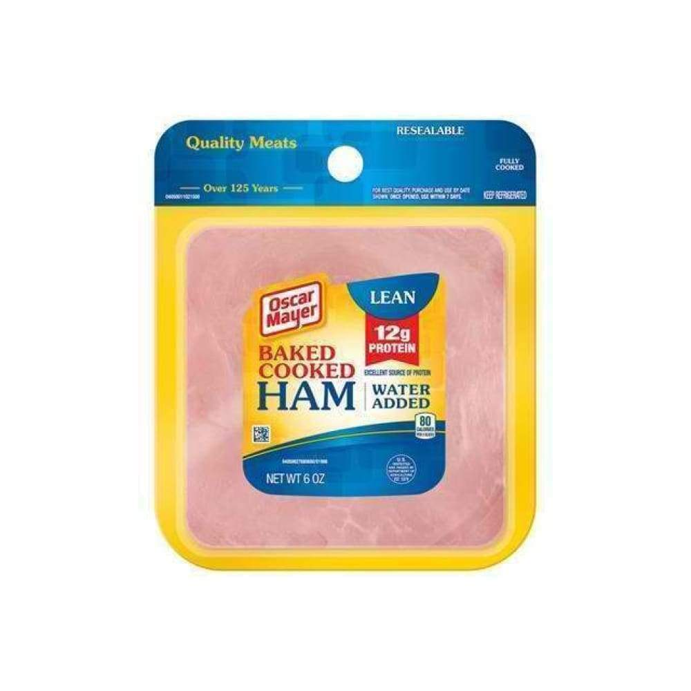Ham Baked Cooked Sliced 6Oz - www.inmatecarepackage.net