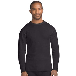Hanes X-Temp™ Men's Organic Cotton Thermal Crew - www.inmatecarepackage.net
