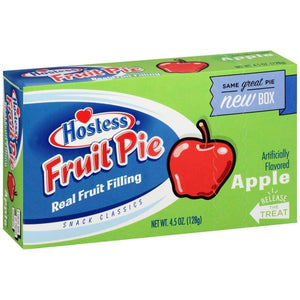 Hostess Apple Pie Single-Serve 4.5 Oz. - www.inmatecarepackage.net