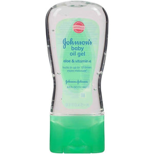 Johnsons Baby Oil Gel Aloe 6.5Oz - www.inmatecarepackage.net