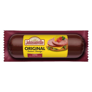Johnsonville Original Summer Sausage 12Oz - www.inmatecarepackage.net