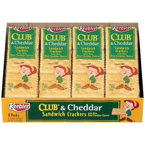 Keebler Kblr Cracker Packs Cheddar 11Oz - www.inmatecarepackage.net
