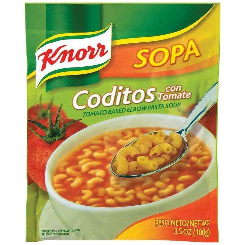 Knorr Side Meal Mexican Pasta With Elbows 3.5Oz - www.inmatecarepackage.net
