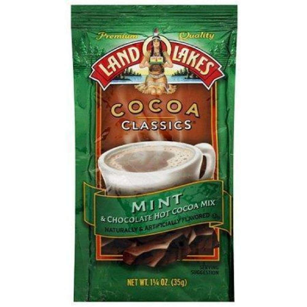 Land O Lakes, Hot Cocoa Mix Chocolate & Mint - www.inmatecarepackage.net