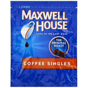 Maxwell House Instant Single Serve Coffee Drink - www.inmatecarepackage.net