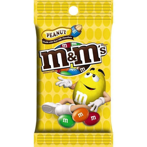 M&m Peanut, 5.3 Oz. Bag - www.inmatecarepackage.net
