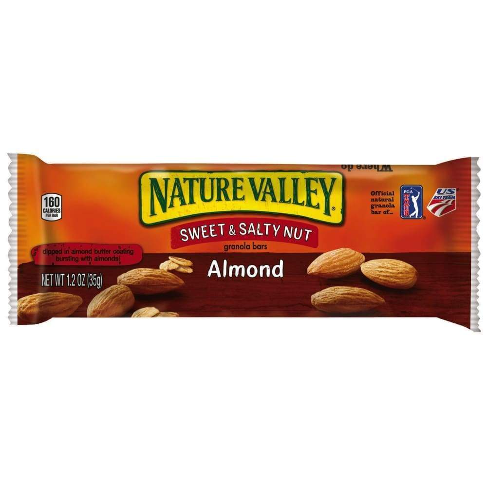 Nature Valley(R) Chewy Granola Bar, Sweet & Salty Nut, Almond - www.inmatecarepackage.net
