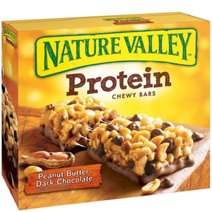 Nature Valley(R) Protein Bar, Peanut Butter/Dark Chocolate 6 Count - www.inmatecarepackage.net