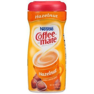 Nestle Coffee-Mate Creamer Hazelnut Powder 15 Oz. - www.inmatecarepackage.net