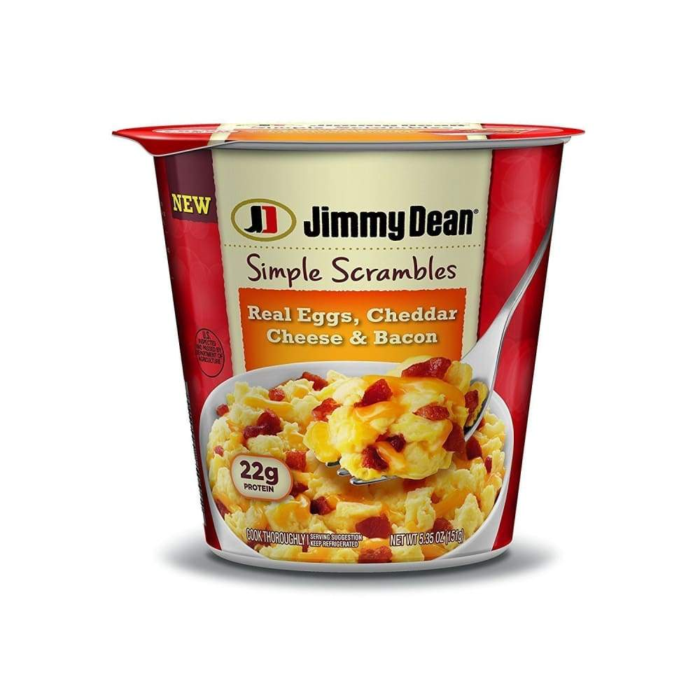 New Jimmy Dean(R) Bacon Simple Scrambles, 5.35 Oz. - www.inmatecarepackage.net