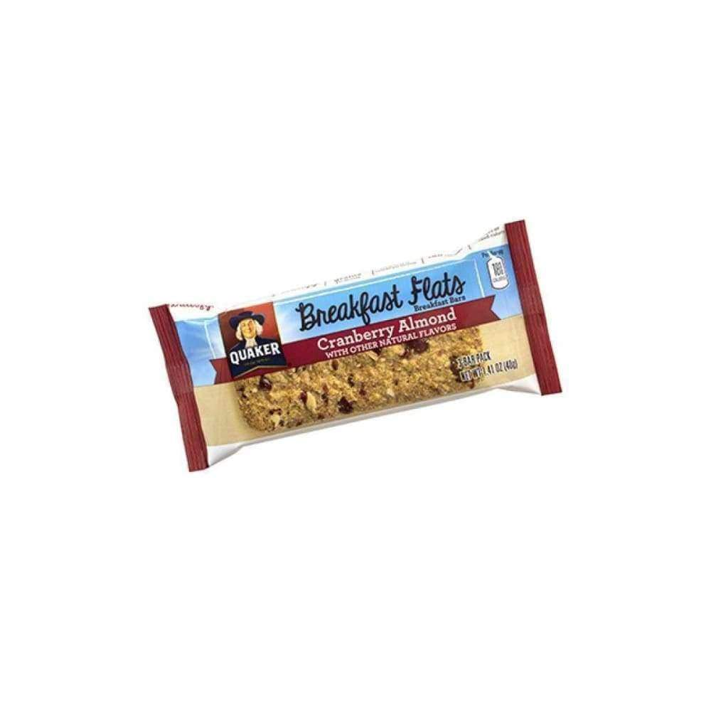 Quaker Breakfast Flats Cranberry Almond 1.41Oz - www.inmatecarepackage.net