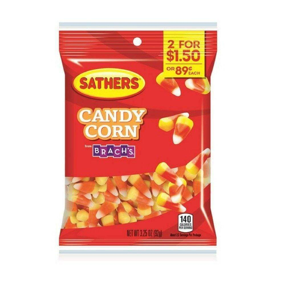 Sathers Candy Corn, 3.25 Oz. - www.inmatecarepackage.net