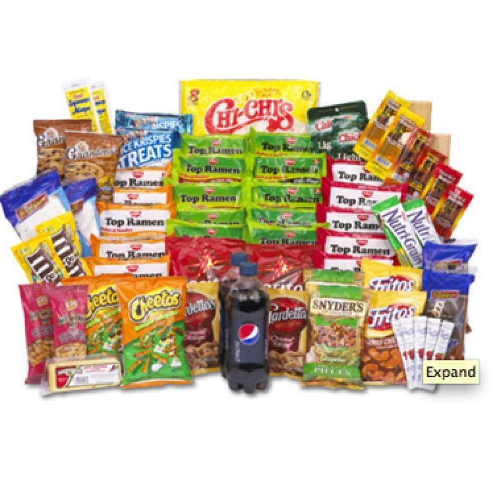 Snack Crate Care Package - www.inmatecarepackage.net