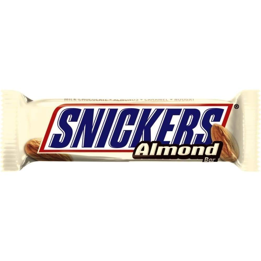 Snickers Almond Candy Bar - www.inmatecarepackage.net