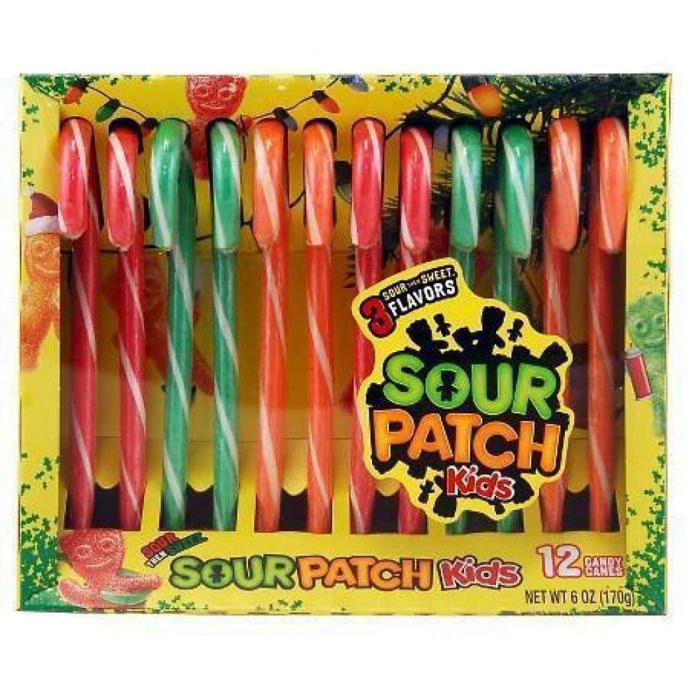 Sour Patch Canes - www.inmatecarepackage.net