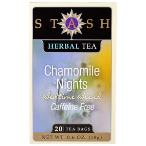 Stash Chamomile Nights Tea 20 Bags - www.inmatecarepackage.net