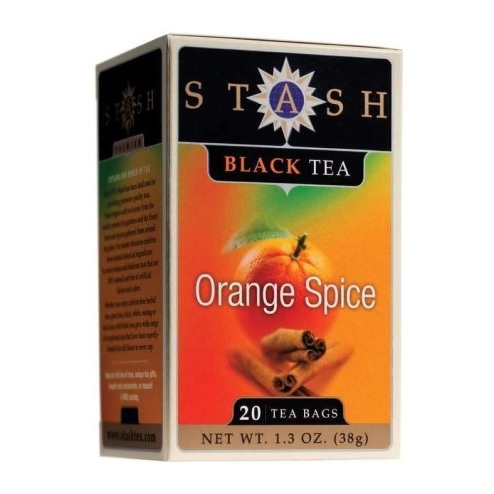 Stash Orange Spice Tea 20 Bags. - www.inmatecarepackage.net