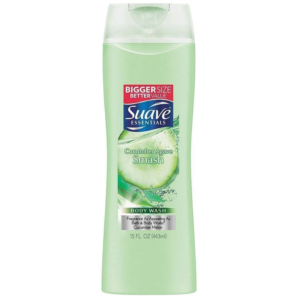 Suave Body Wash Essential Cucumber Agave 15 Oz. - www.inmatecarepackage.net