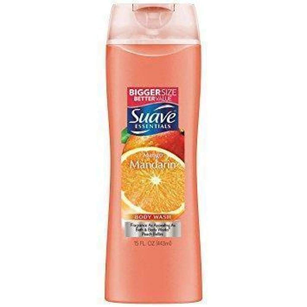 Suave Body Wash Essential Mango Mandarin 15Oz. - www.inmatecarepackage.net