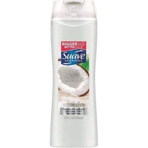 Suave Body Wash Essential Tropical Coconut 15Oz. - www.inmatecarepackage.net