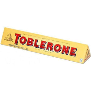 Toblerone Milk Chocolate Bar - www.inmatecarepackage.net