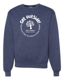 FERN HOLLOW GET OUTSIDE! ADULT CREWNECK SWEATSHIRT