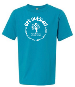 FERN HOLLOW GET OUTSIDE! YOUTH SHORT SLEEVE T-SHIRT