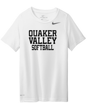 Load image into Gallery viewer, NIKE BRAND QVSB SOFTBALL ADULT SHORT SLEEVE T-SHIRT WITH PERSONALIZATION OPTION