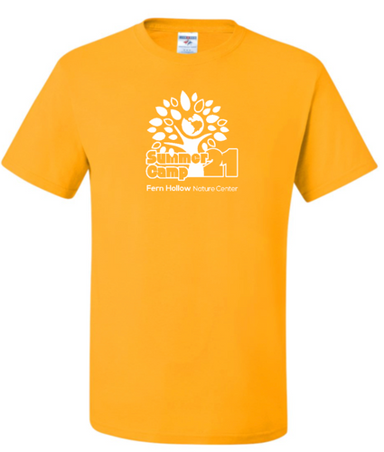 **HEY CAMPERS!  HERE'S YOUR SHIRT!**  FERN HOLLOW SUMMER CAMP YOUTH OR ADULT SHORT SLEEVE T-SHIRT