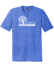 Load image into Gallery viewer, FERN HOLLOW 2021 GET OUTSIDE! YOUTH TRI-BLEND SHORT SLEEVE T-SHIRT