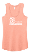Load image into Gallery viewer, FERN HOLLOW 2021 GET OUTSIDE! WOMENS TRI-BLEND RACERBACK TANK