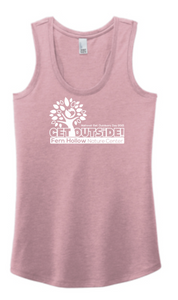 FERN HOLLOW 2021 GET OUTSIDE! WOMENS TRI-BLEND RACERBACK TANK
