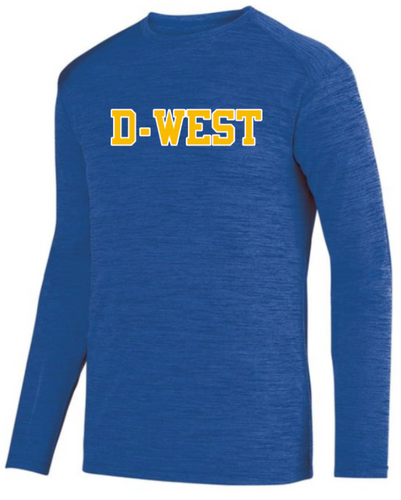 DOWNINGTON WEST CHEER STATE CHAMPS DRY-FIT LONG SLEEVE