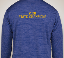 Load image into Gallery viewer, DOWNINGTON WEST CHEER STATE CHAMPS DRY-FIT LONG SLEEVE