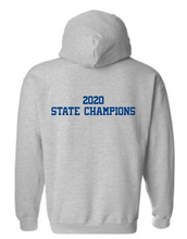 Load image into Gallery viewer, DOWNINGTON WEST CHEER STATE CHAMPS / D-WEST HOODED SWEATSHIRT
