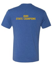 Load image into Gallery viewer, DOWNINGTON WEST CHEER STATE CHAMPS *Disney Font* TRI-BLEND COTTON SHORT SLEEVE